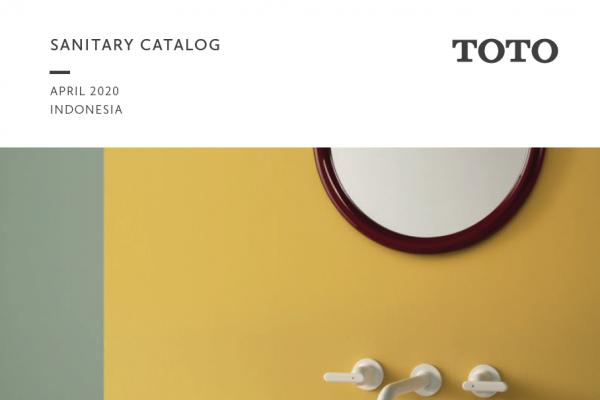 Sanitary Catalog Toto 2020 (Update)