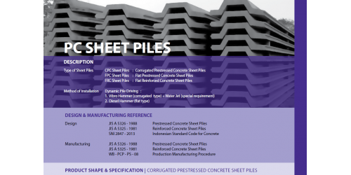 Katalog WIKA Beton PC Sheet Piles